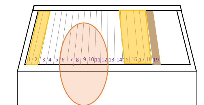 horizontale simplex kast- honingoogst