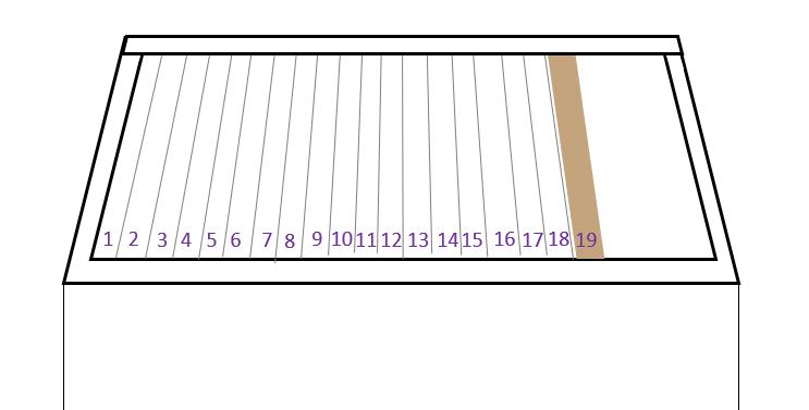 horizontale simplex kast in tweede jaar